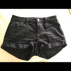 Bullhead Super Stretchy Black Shorts